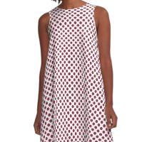 Valentine Polka Dots A-Line Dress