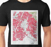 USGS TOPO Map California CA Whittier 301363 1965 24000 geo Unisex T-Shirt