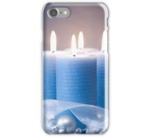 Christmas Candles & Ribbon iPhone Case/Skin