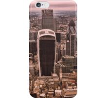 """The """"Exeter"""" Red and Yellow iPhone Case/Skin"""