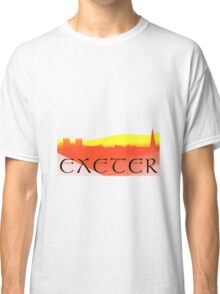 """The """"Exeter"""" Red and Yellow Classic T-Shirt"""