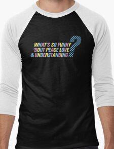 Elvis Costello-What's So Funny... Men's Baseball ¾ T-Shirt