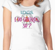 I Do Gourds, So? Ver. 2 Women's Fitted Scoop T-Shirt