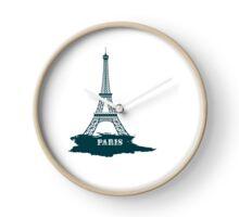 Paris tour eiffel Clock