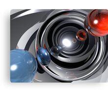 Abstract Camera Lens Canvas Print
