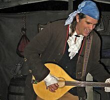 Singing Pirate at Sleepy Hollow by Jane Neill-Hancock
