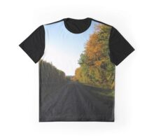 Fall Drive Portrait Graphic T-Shirt