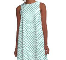 Downy Polka Dots A-Line Dress