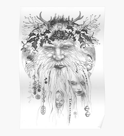 Yule 2016 The Holly King Poster