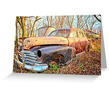Chevrolet Relic Greeting Card
