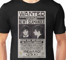 Fantastic Beast Newt Scamander Wanted Unisex T-Shirt