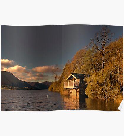 Ullswater Sunset Poster