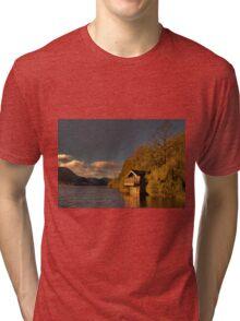 Ullswater Sunset Tri-blend T-Shirt