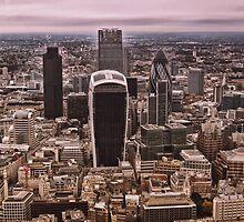 London Skyline (LON1) by Paul Clements