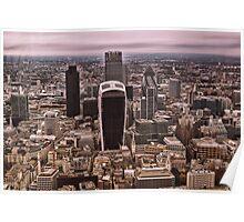 London Skyline (LON1) Poster