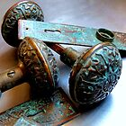 Old Door Knobs With Character by Diane Arndt