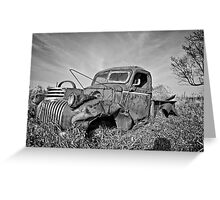 The Old Pickup BNW Greeting Card