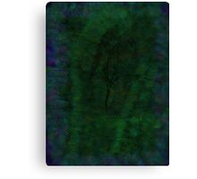 Tree In Green Canvas Print