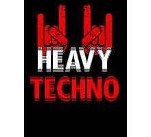 Heavy Techno Rocks Photographic Print