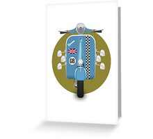 Scooter One Greeting Card