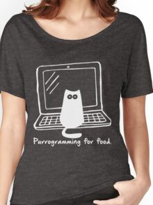 Purrogramming for food Women's Relaxed Fit T-Shirt