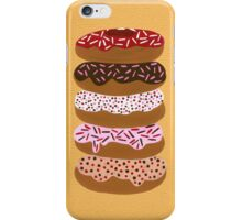 Donuts Stacked on Yellow iPhone Case/Skin