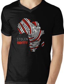 Stolen Identity Mens V-Neck T-Shirt