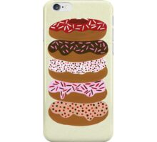 Donuts Stacked on Cream iPhone Case/Skin