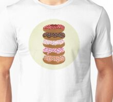 Donuts Stacked on Cream Unisex T-Shirt