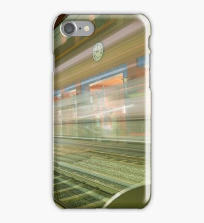 Transparent Trains iPhone Case/Skin