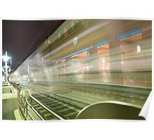 Transparent Trains Poster