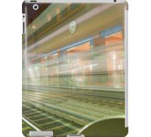 Transparent Trains iPad Case/Skin