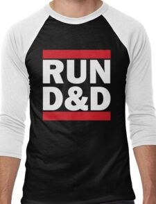 RUN D&D - classic Men's Baseball ¾ T-Shirt