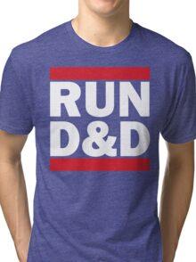 RUN D&D - classic Tri-blend T-Shirt