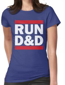 RUN D&D - classic Womens Fitted T-Shirt