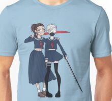 School-Girls SamuRai Unisex T-Shirt