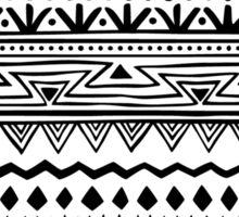 Black and White Tribal Print Sticker