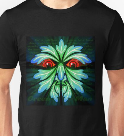 SAY A PRAYER FOR THE GREEN MAN Unisex T-Shirt
