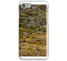 Hikers on the Overland Track, Cradle Mountain iPhone Case/Skin