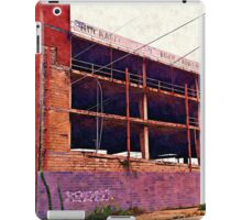 Watercolor Garage iPad Case/Skin