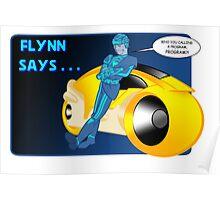 Flynn Says... Poster