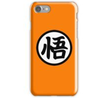 The Shirt of Goku iPhone Case/Skin
