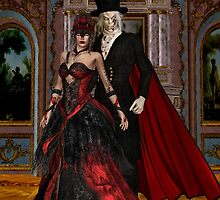 Masque of the Red Death by LoneAngel