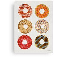 Half Dozen Donuts Canvas Print