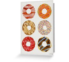 Half Dozen Donuts Greeting Card