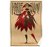 Harley Quinn Card Poster