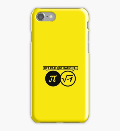 Get Real - Be Rational VRS2 iPhone Case/Skin