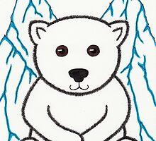 Percy the Polar Bear Art by misadventureart