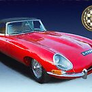 E-Type Jaguar by destinysagent