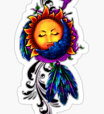 Sun and Moon Dreamcatcher Sticker